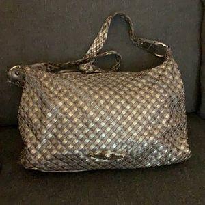 Elliot Luca leather satchel